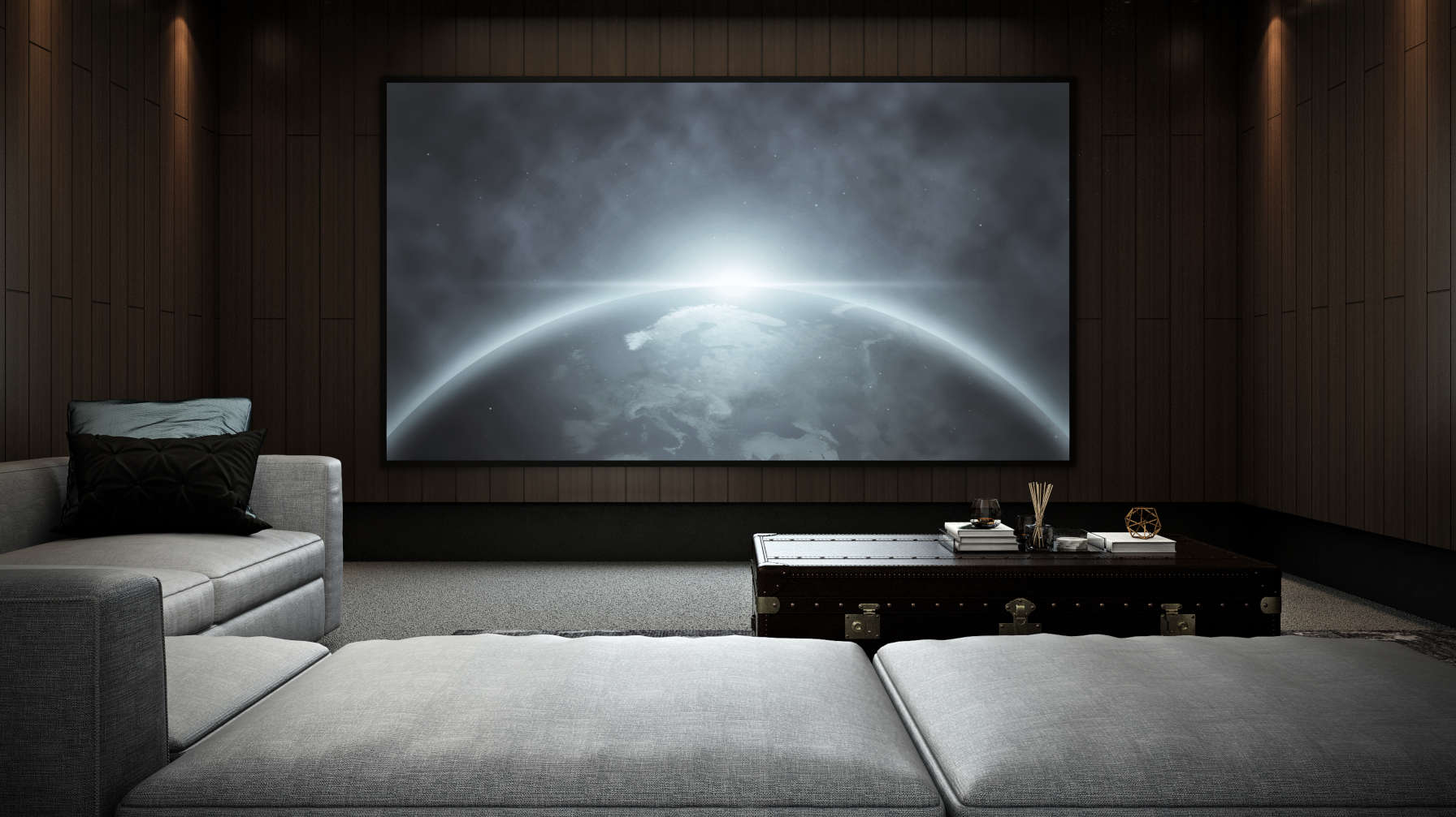 home theater domotica
