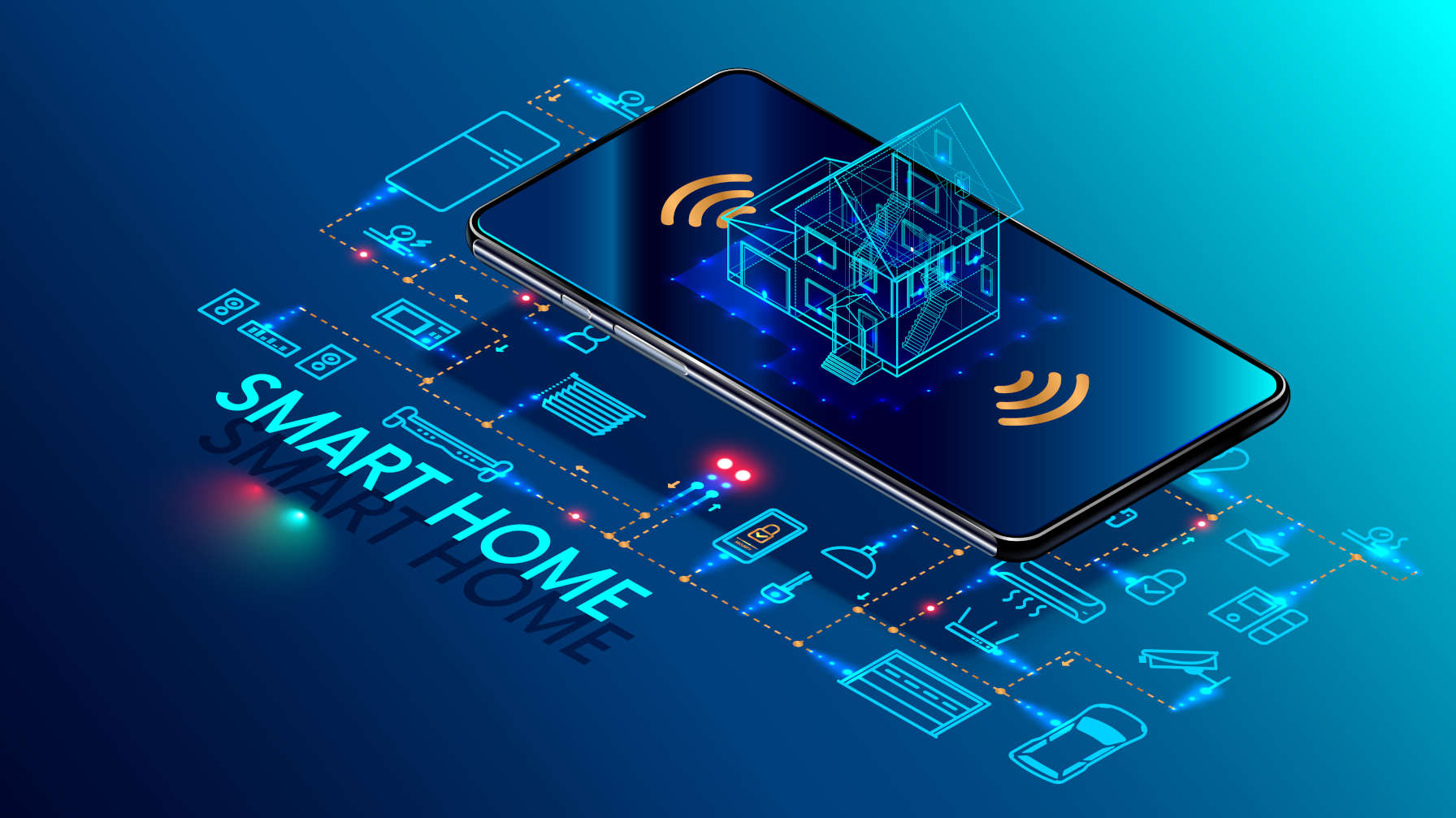 What is the difference between home automation and the Internet of Things?