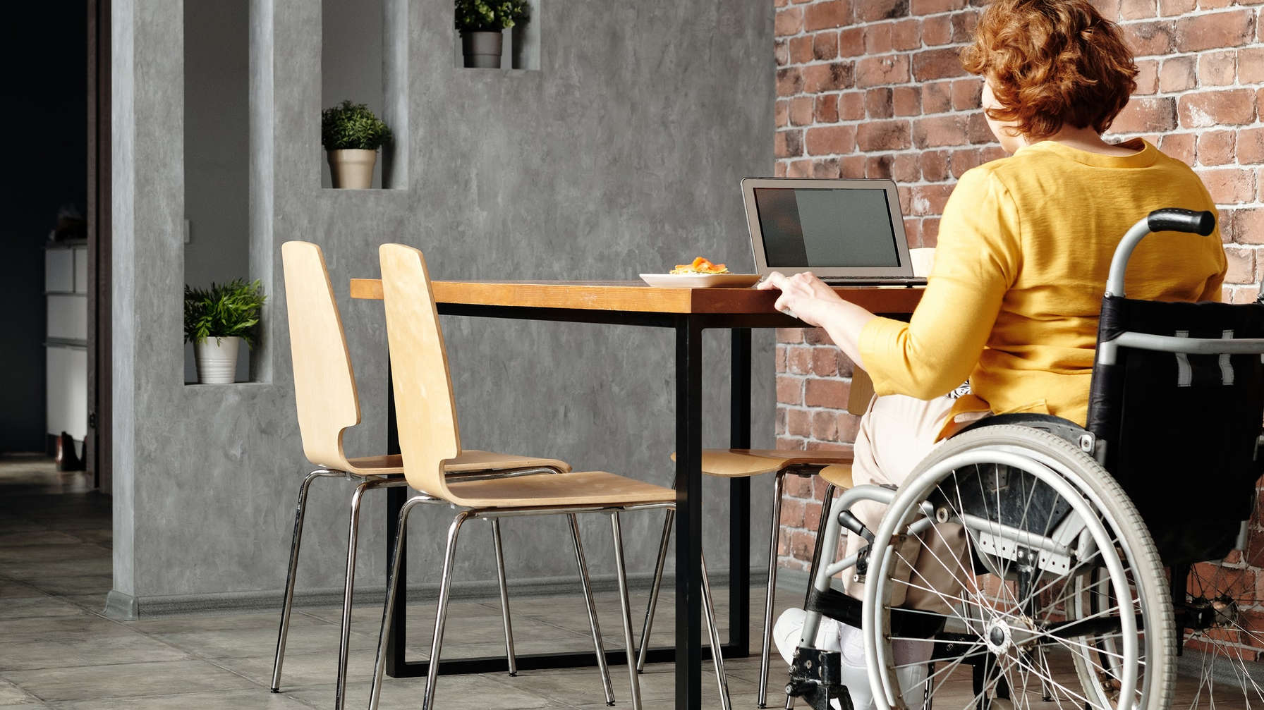 Home automation for elderly and disabled people